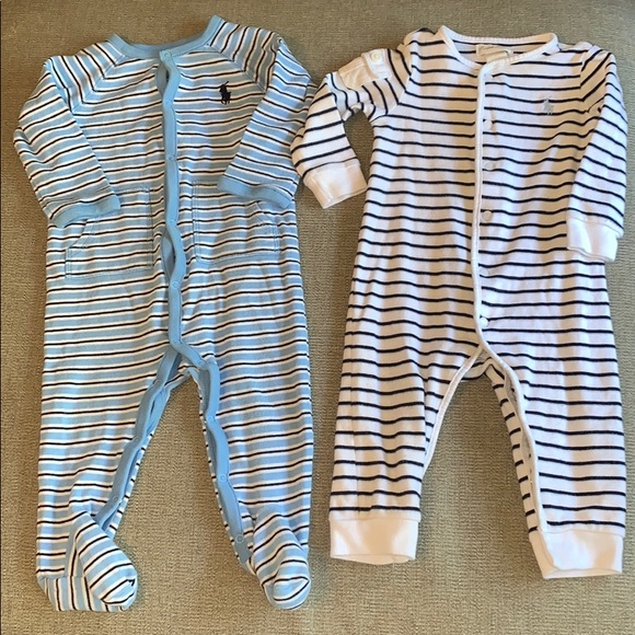 Ralph Lauren Other - ❗️1HR SALE❗️Ralph Lauren baby sleeper jumpsuit